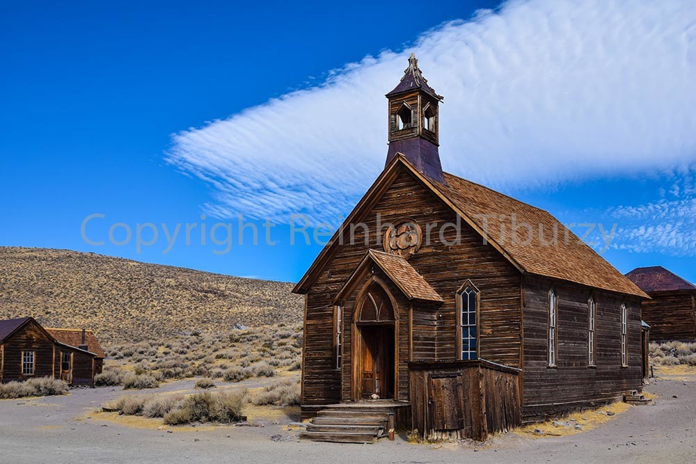Ghost town Bodie, California, USA.