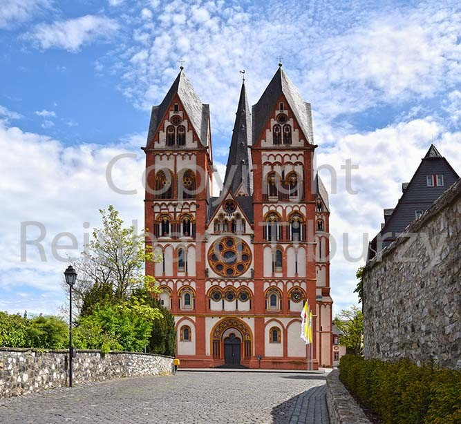 Cathedral of Limburg an der Lahn, Germany.