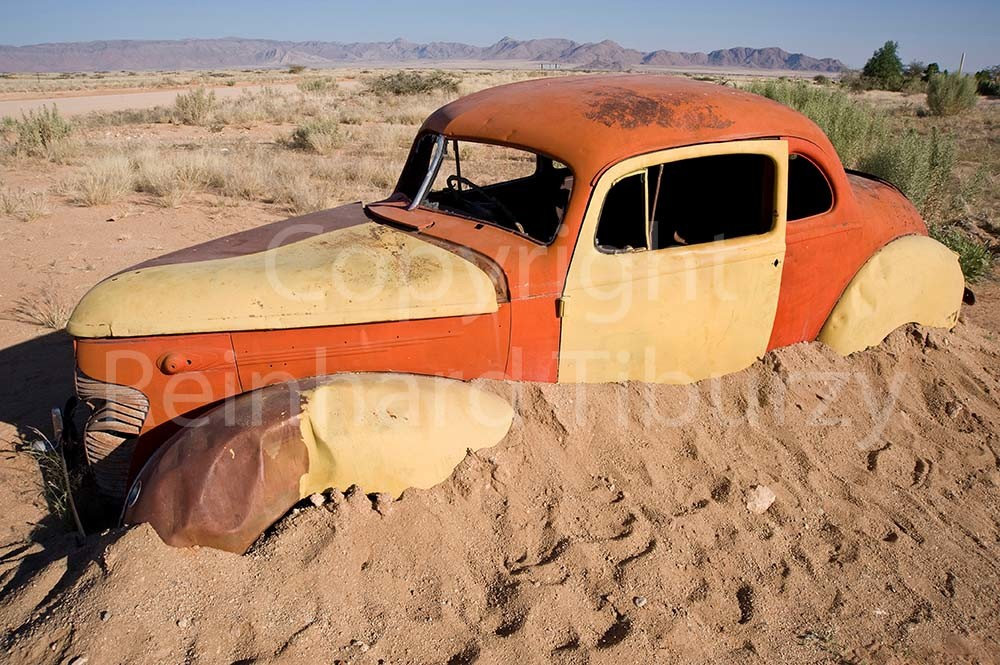 Old-timer, car, wreck, vintage,in the, desert. auto, automobile, wueste, sand
