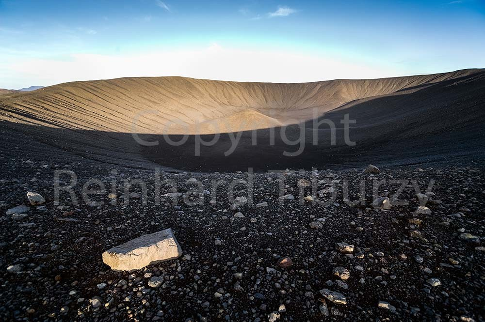 Hverfjall crater, Iceland.