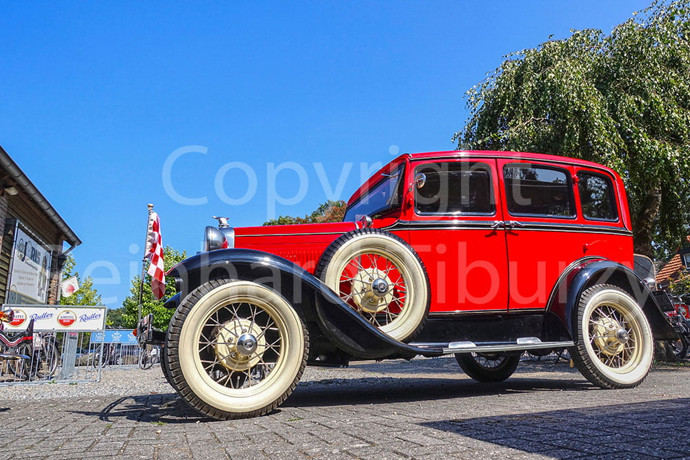 old-timer, car, Auto, Ford, red